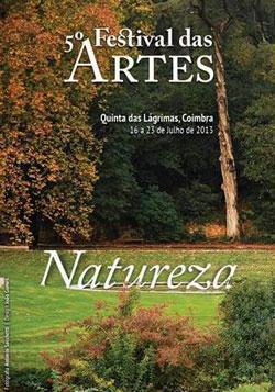 Cartaz do 5.º Festival das Artes, em 2013