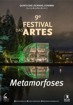 Cartaz do 9.º Festival das Artes, em 2017