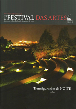 Cartaz do 1.º Festival das Artes, em 2009