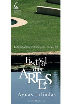 Cartaz do 2.º Festival das Artes, em 2010