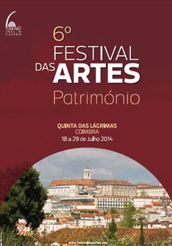 Cartaz do 6.º Festival das Artes, em 2014