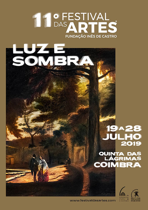 Cartaz do 11.º Festival das Artes, em 2019