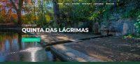Jardins da Quinta das Lágrimas incluídos nas Rotas dos Jardins Históricos de Portugal