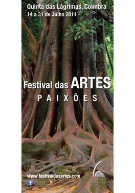 Cartaz do 3.º Festival das Artes, em 2011