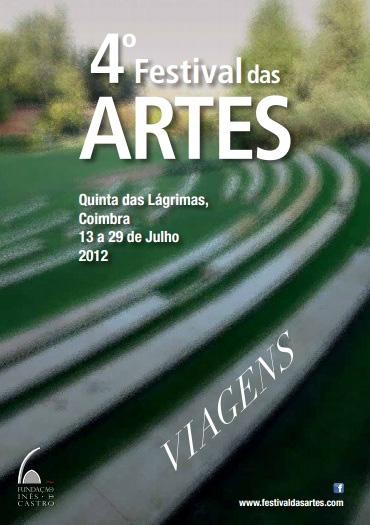 Cartaz do 4.º Festival das Artes, em 2012