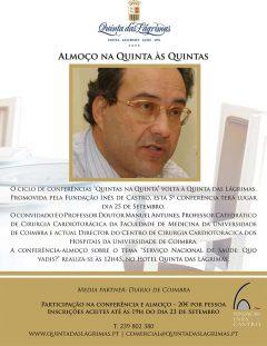"""5.ª Conferência """"Quintas na Quinta"""""""