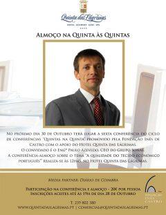 """6.ª Conferência """"Quintas na Quinta"""""""