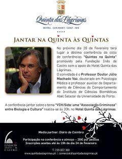 """10.ª Conferência """"Quintas na Quinta"""""""