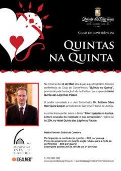 """43.ª conferência """"Quintas na Quinta"""""""