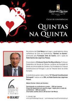 """48.ª Conferência """"Quintas na Quinta"""""""