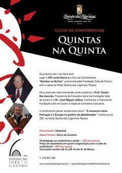 """50.ª Conferência-Jantar """"Quintas na Quinta"""""""